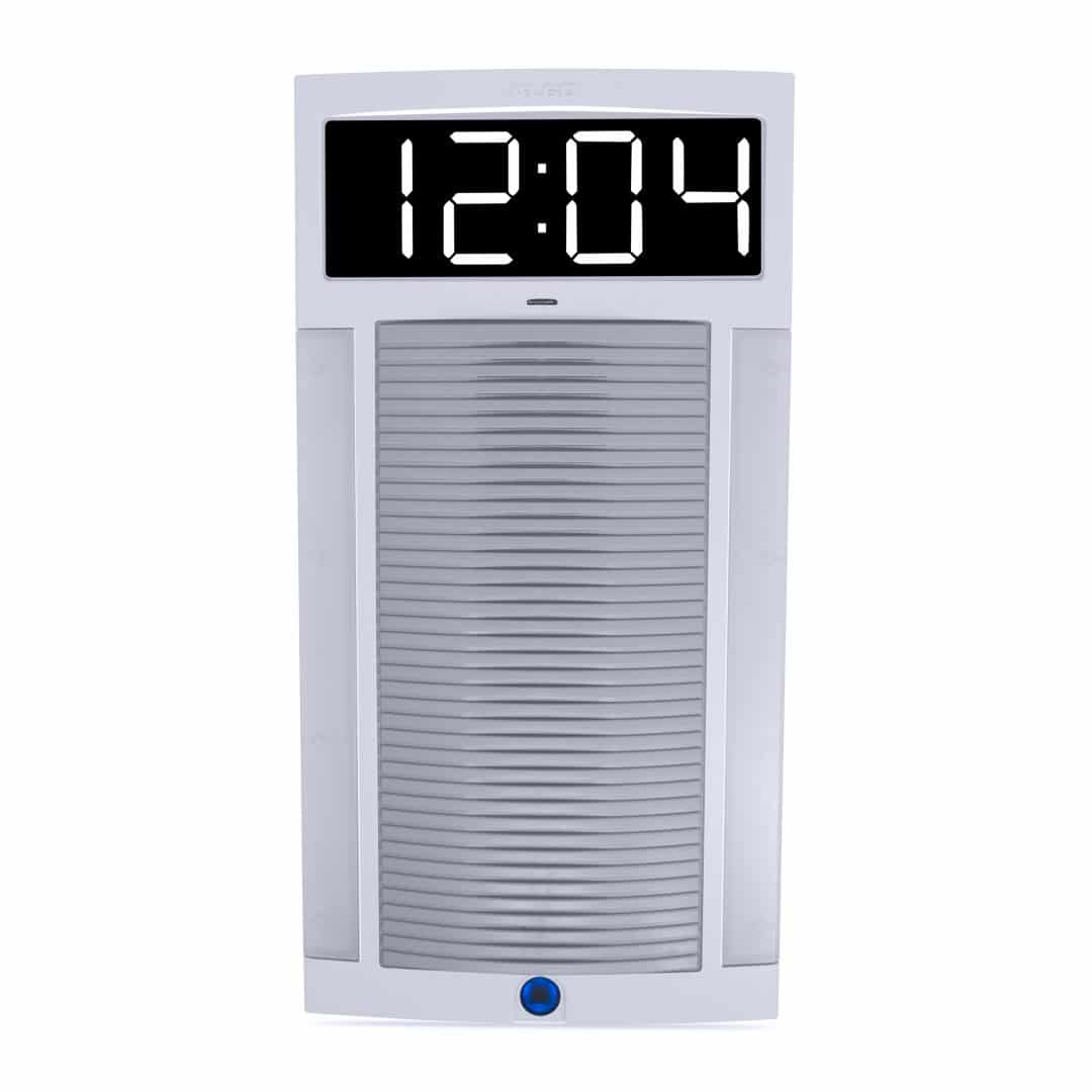 Algo 8190S SIP Speaker - Clock & Visual Alerter for IP Paging in Classroom & PA Applications