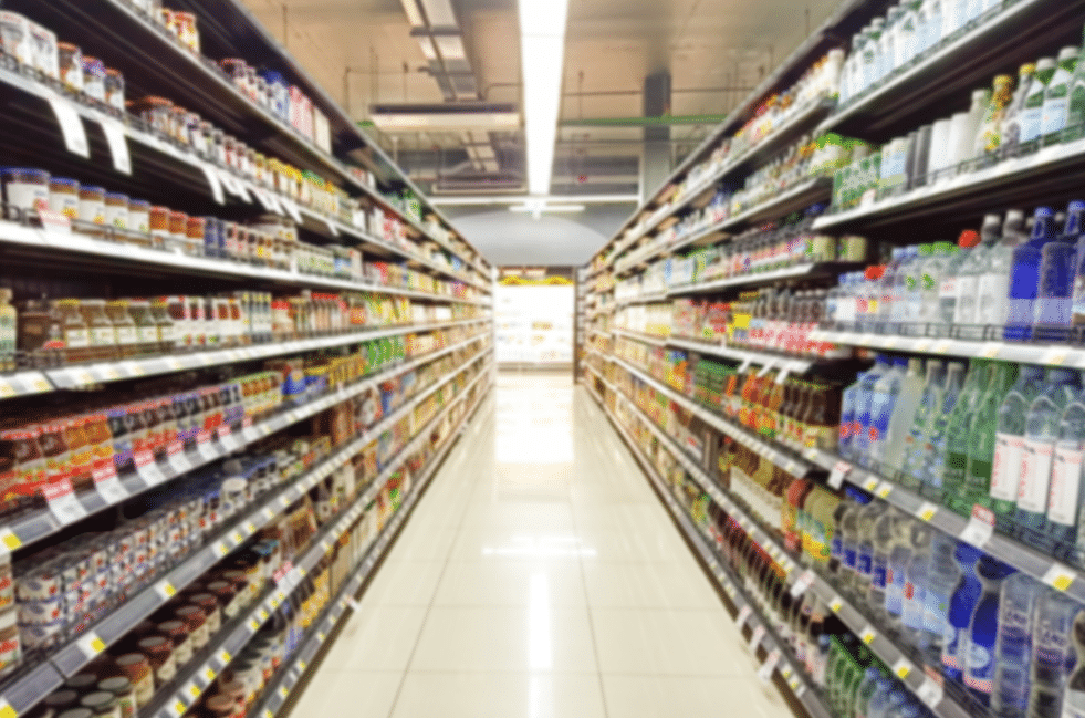 Retail Aisle Market