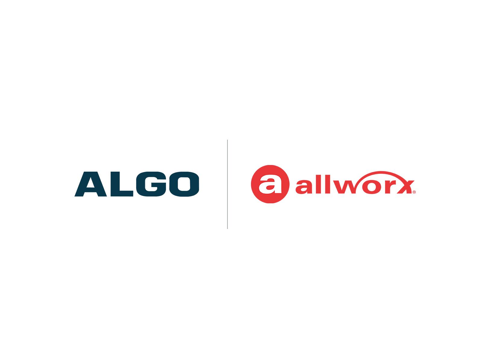 Algo Allworx Compatibility Logo