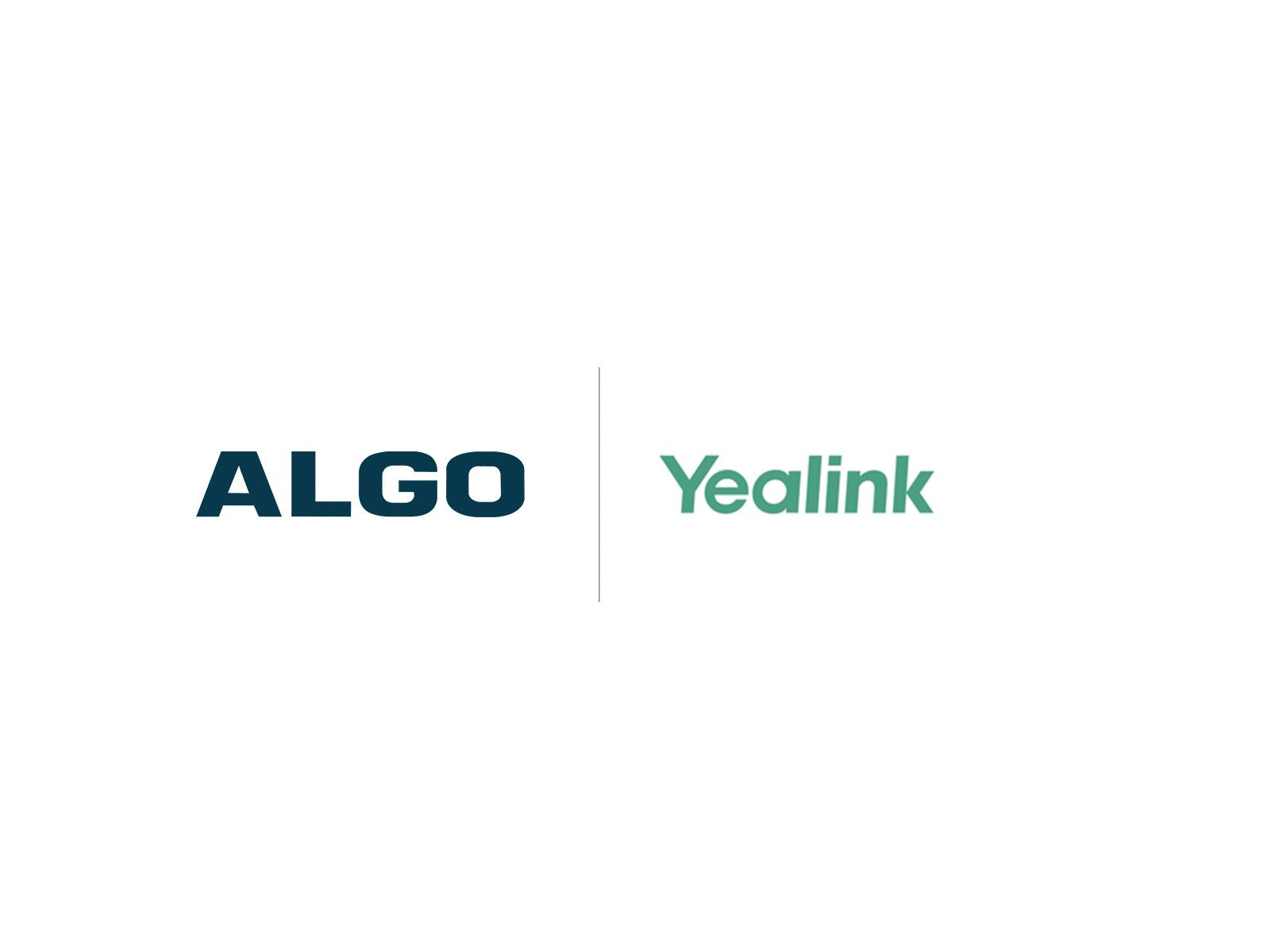 Algo Yealink Compatibility Logo