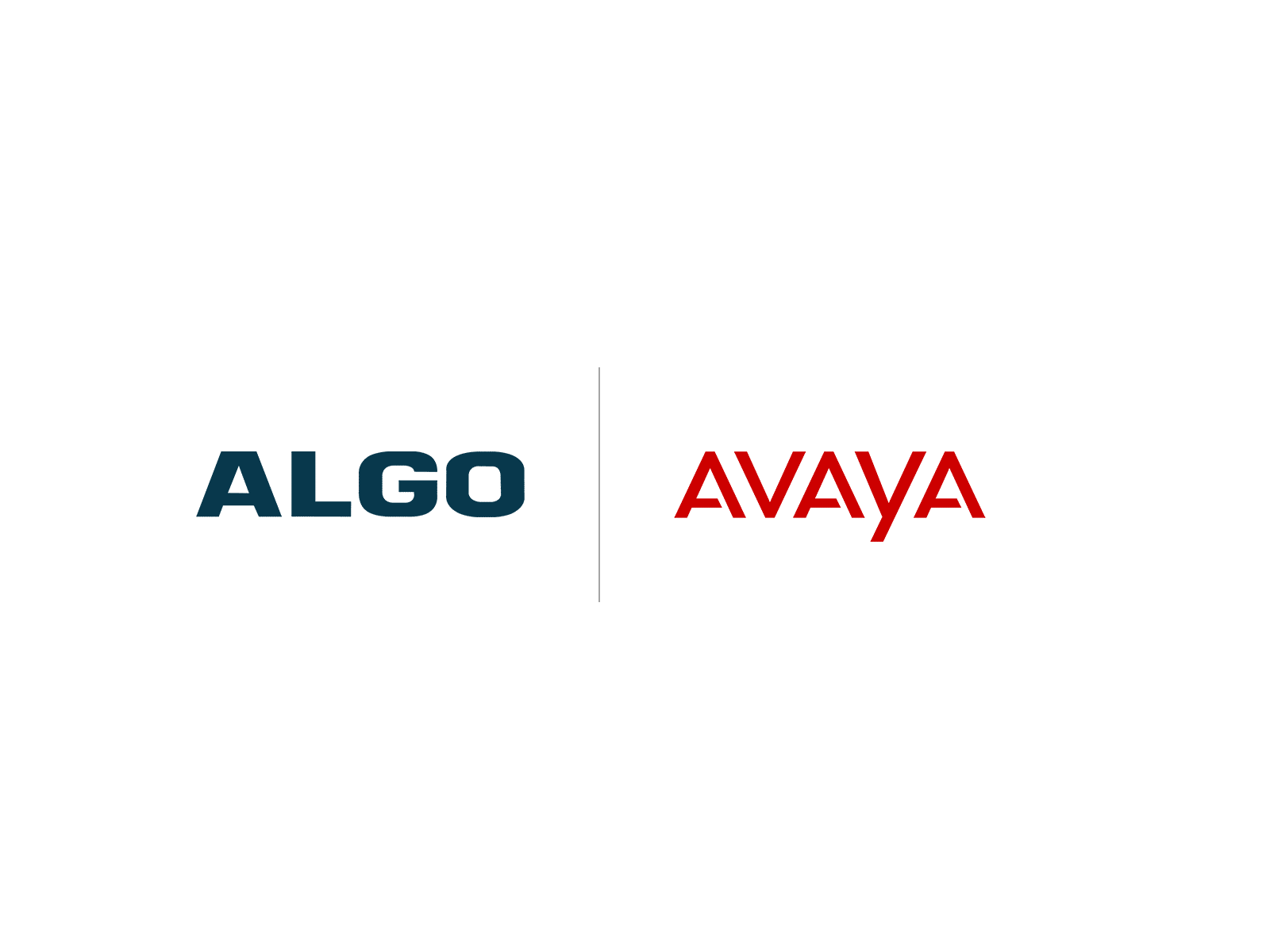 Algo Avaya Logo Compatibility