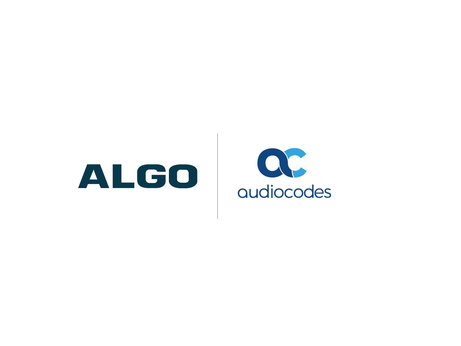 Algo Audiocodes Compatibility