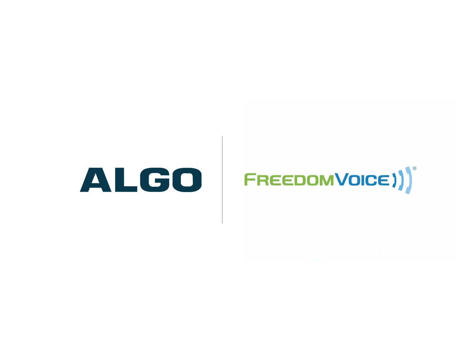 Algo FreedomVoice Compatibility Logo