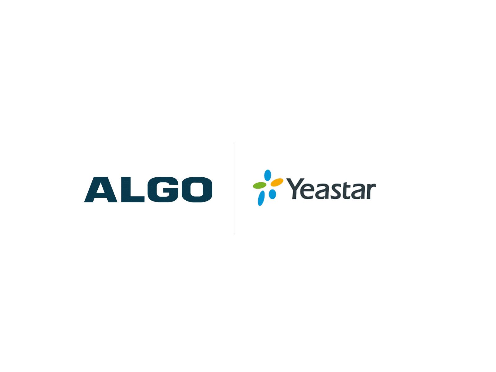 Algo Yeastar Compatibility Logo